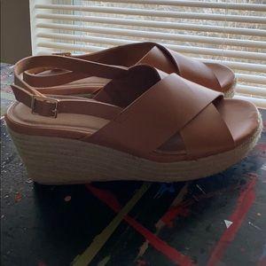 Torrid Jute Wedge Sandals